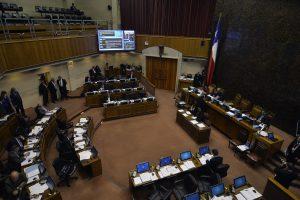 Senado Discute el Proyecto de la Ley Corta 18 Mayo 2016 Foto:Agencia Uno. Imagen Por: