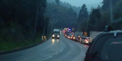 Nueva colisión múltiple en ruta Las Palmas de Viña del Mar: siete vehículos involucrados