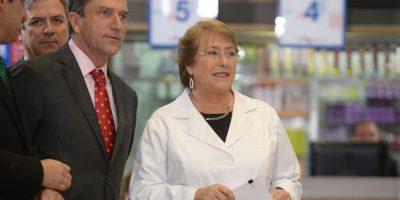 Presidenta Bachelet anuncia convenio entre Capredena y Fonasa