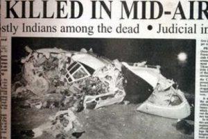 El 12 de noviembre de 1996 en Nueva Delhi, el vuelo 763 de Saudi Arabian Airlines se estrelló con el vuelo 1907 de Kazakhstan Airlines, matando a 349 personas. Foto:Wikipedia. Imagen Por: