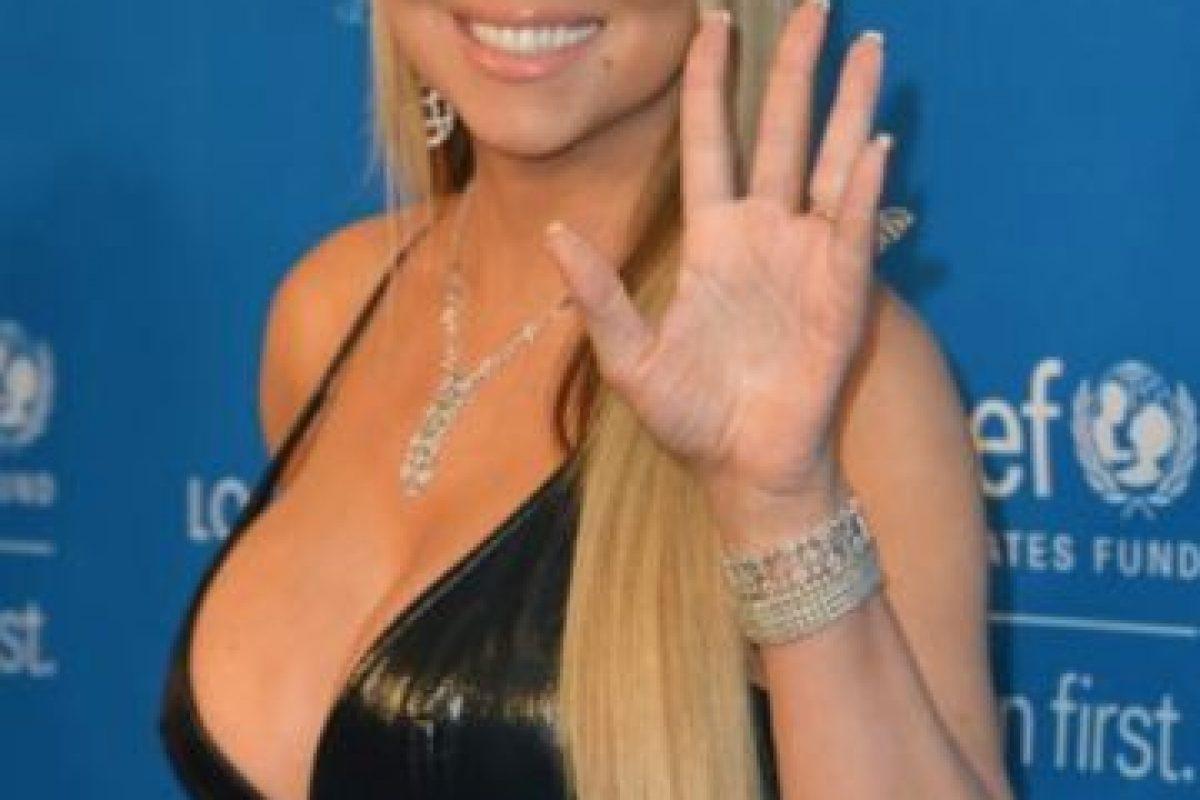 A continuación les dejamos algunas fotos de Mariah Carey y cómo cambió su figura. Foto:Getty Images. Imagen Por: