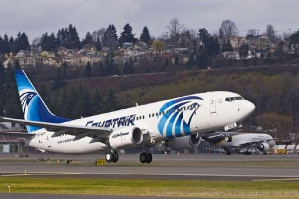 El Airbus A-320 de EgyptAir se encuentra desaparecido Foto:Twitter. Imagen Por:
