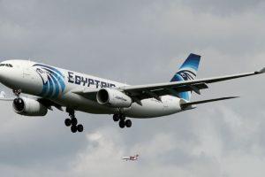 La aeronave viajaba con 66 personas a bordo Foto:Twitter. Imagen Por: