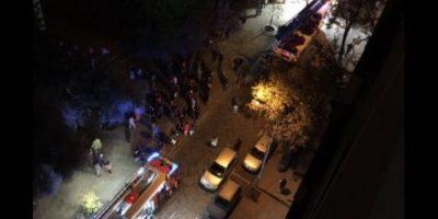Incendio en céntrico edificio movilizó a equipos de emergencia