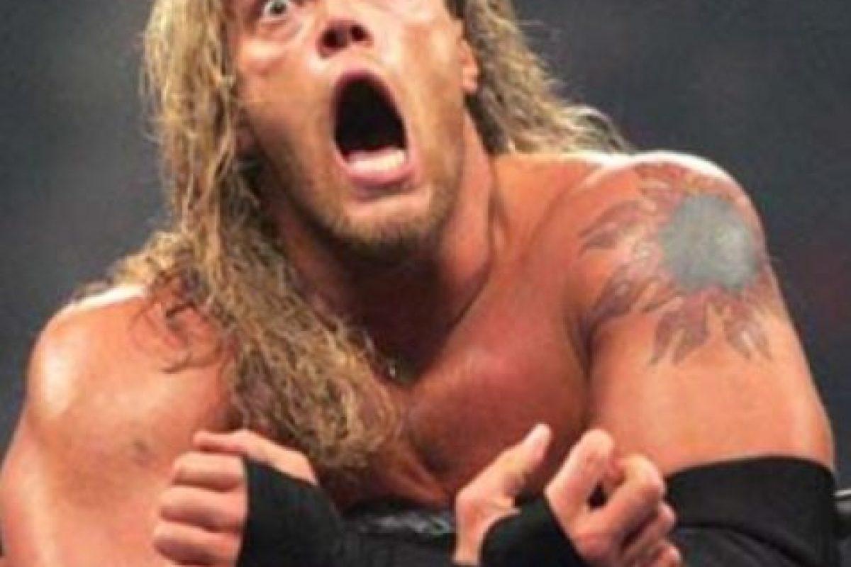 """Edge. La superestrella categoría """"R"""" también tuvo combates violentos y sangrientos Foto:WWE. Imagen Por:"""