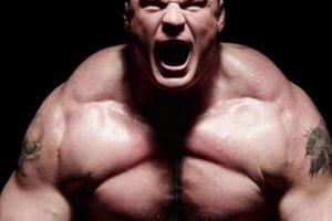 Brock Lesnar y su rudeza total Foto:WWE. Imagen Por: