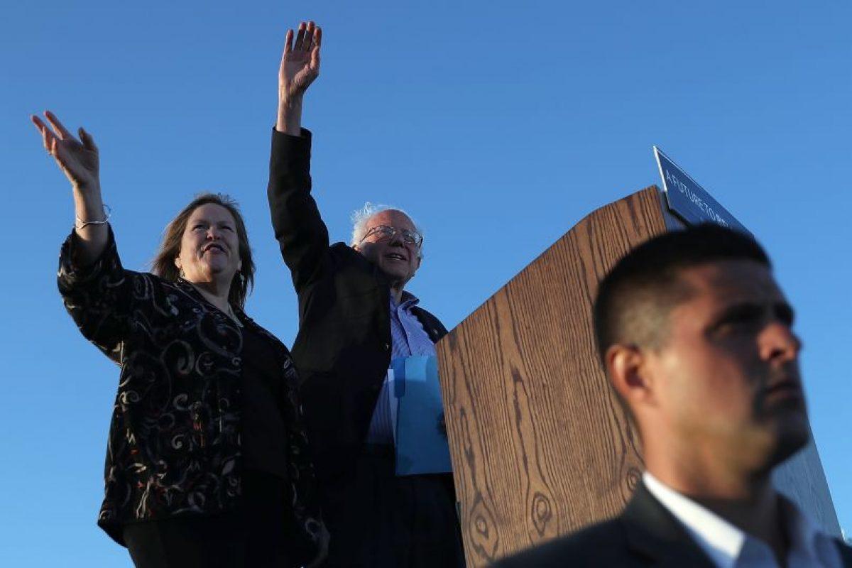 Bernie Sanders se anotó una nueva victoria sobre Hillary Clinton en las primarias demócratas en Oregon. Foto:JOSH EDELSON / AFP. Imagen Por: