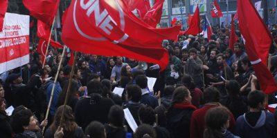 Valparaíso: se registran manifestaciones en el exterior del Congreso