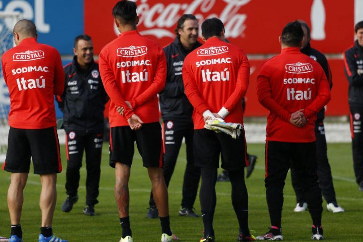 La Selección Chilena de Futbol en el complejo Juan Pinto Duran, de cara a la Copa Centenario a realizarse en el mes de Junio en EE.UU. Foto:PABLO VERA LISPERGUER/AGENCIAUNO. Imagen Por: