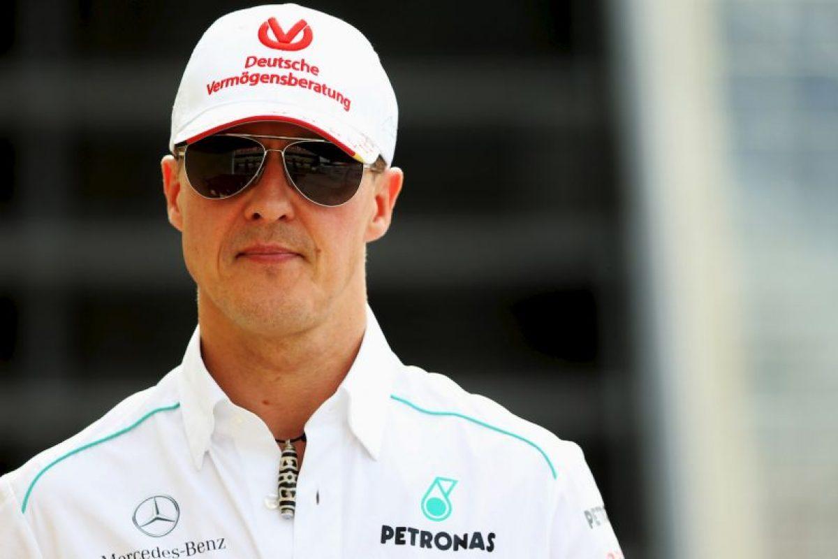 Michael Schumacher presenta leve mejoría Foto:Getty Images. Imagen Por: