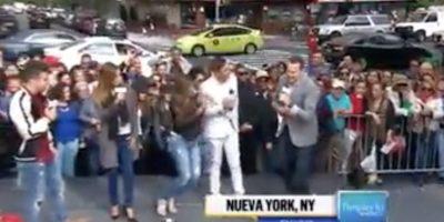 Conductora se desvanece en vivo durante transmisión en TV