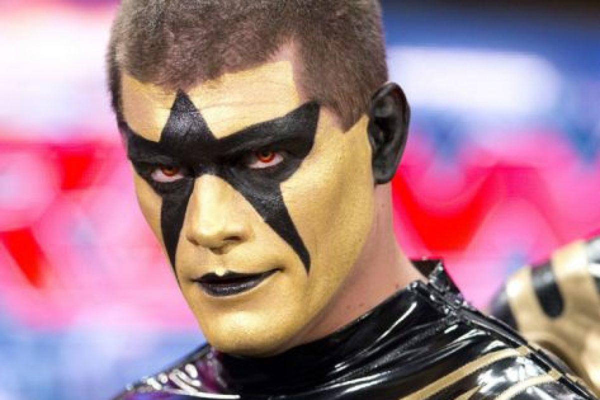 Peleaba con la identidad de Stardust desde 2014 Foto:WWE. Imagen Por:
