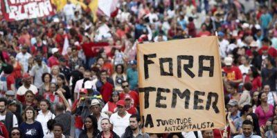 Cientos de brasileños vuelven a las calles en protesta contra el actual gobierno