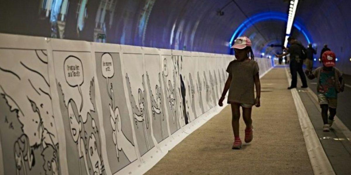 Un cómic de 1,6 km de largo bate récord del mundo en Francia
