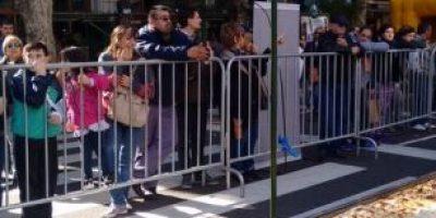 Arman en Buenos Aires empanada de 80 metros de largo por una causa solidaria
