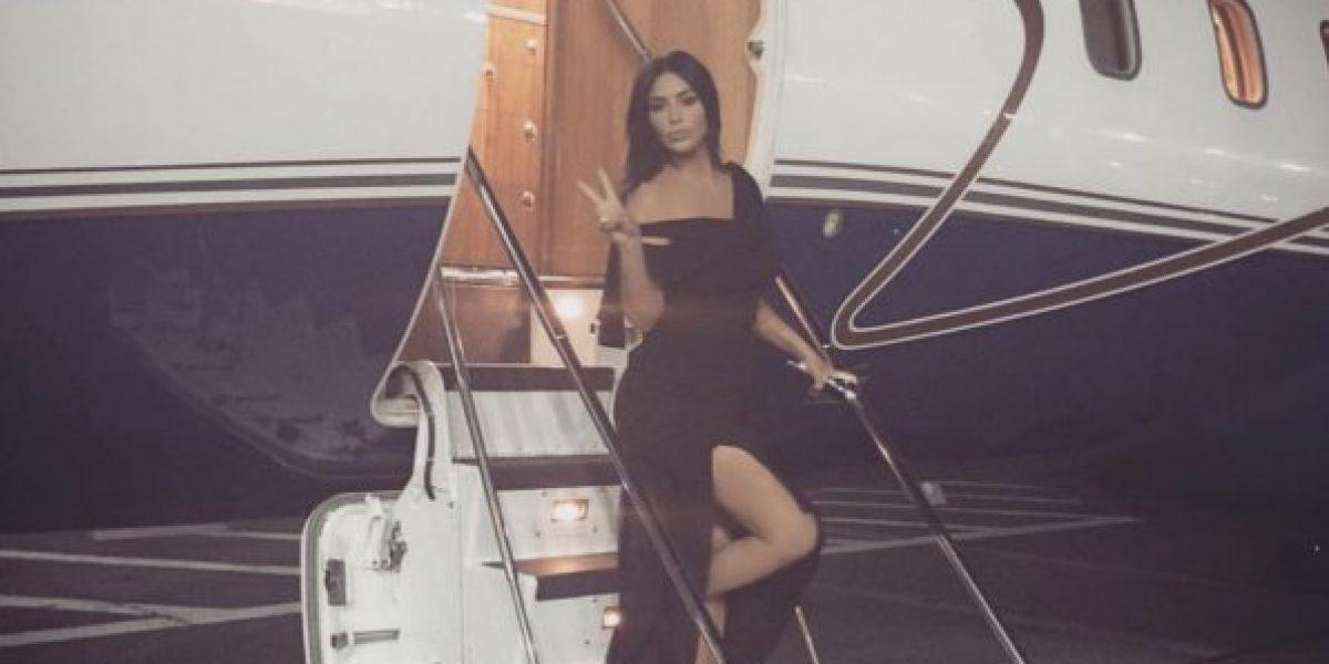 Por esta razón Kim Kardashian subió la foto de su test de embarazo