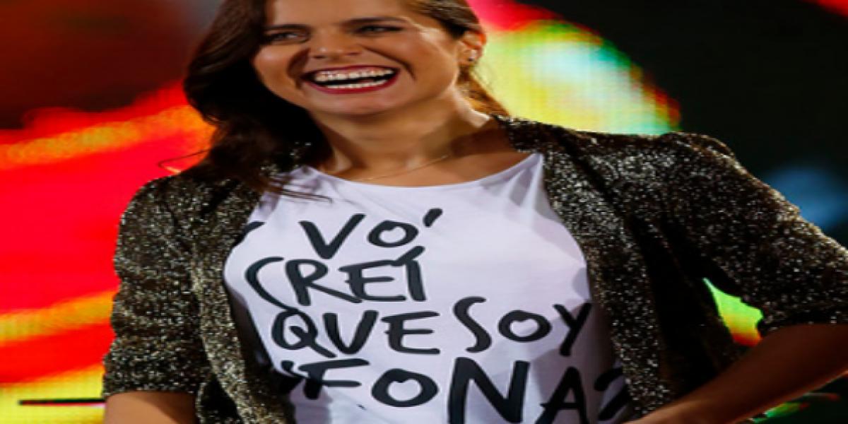 Natalia Valdebenito se enojó con el público en