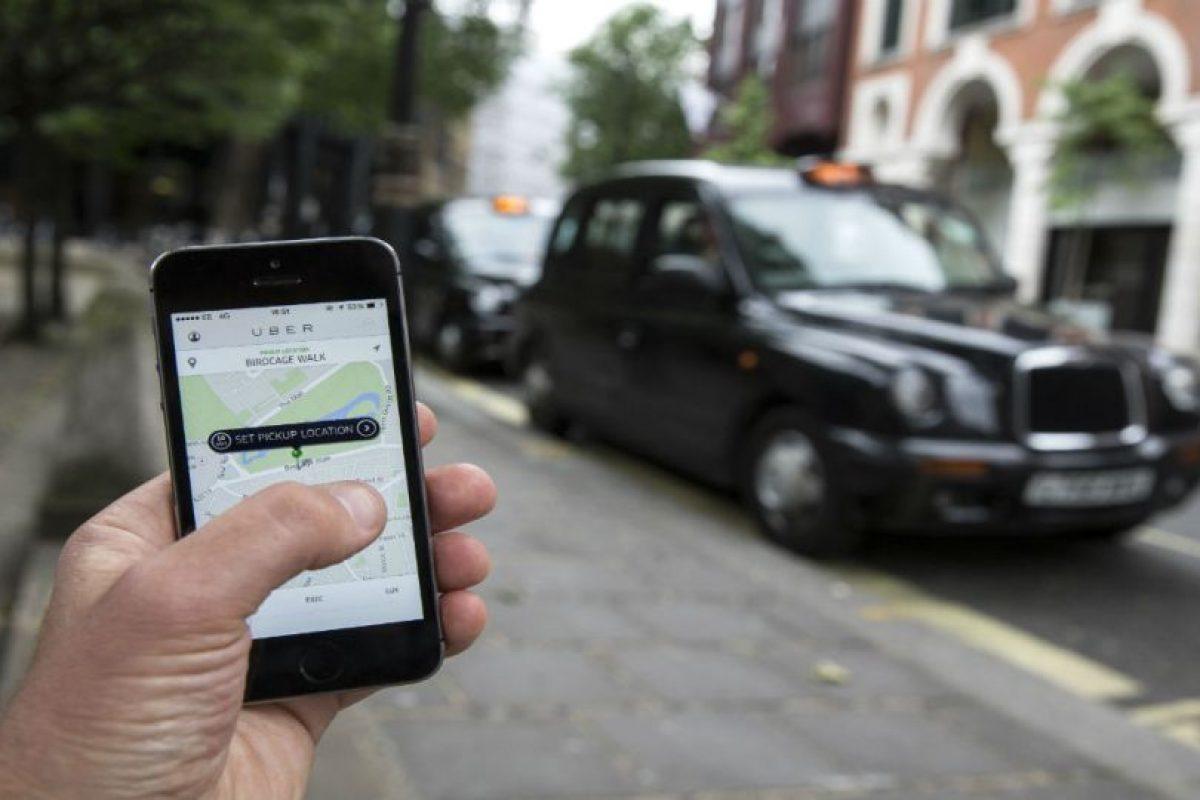 Se calcula que todos los viajes de Uber en el mundo, combinados recrean la distancia de ida y vuelta a Saturno. Foto:Getty Images. Imagen Por: