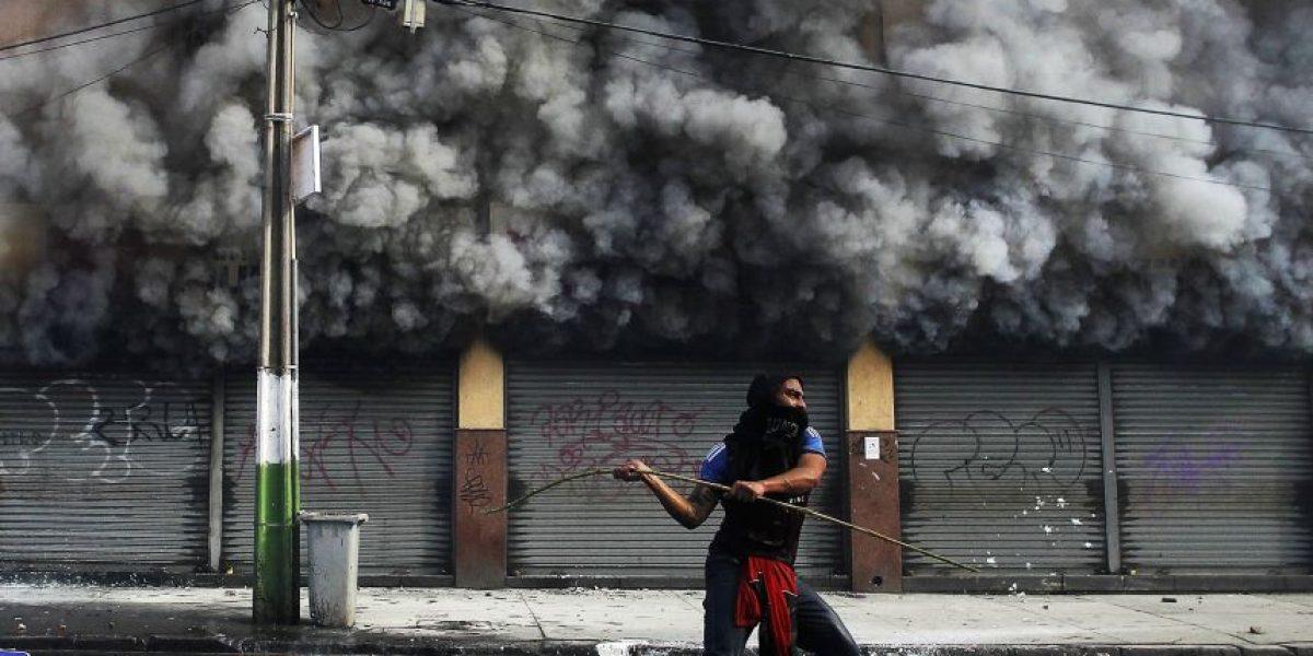 Revelan video que muestra como partió incendio en que murió guardia municipal de Valparaíso