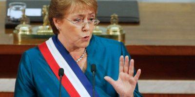 """Bachelet por violencia del 21 mayo: """"No son jóvenes que están luchando por la democracia, es delincuencia"""""""