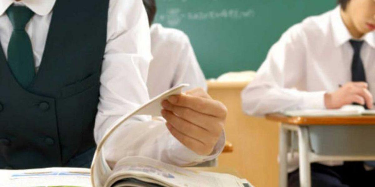 Cámara capta momento exacto en que profesor y