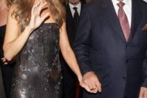 Aquí vemos a la cantante con su esposo, el recientemente fallecido Rene Angelil. Foto:Getty Images. Imagen Por: