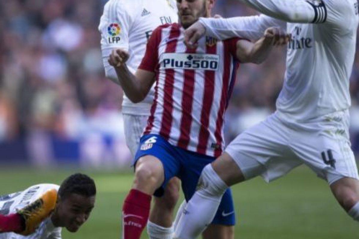 """El """"Atleti"""" solo ha perdido un partido de los últimos 10 disputados ante los blancos Foto:Getty Images. Imagen Por:"""
