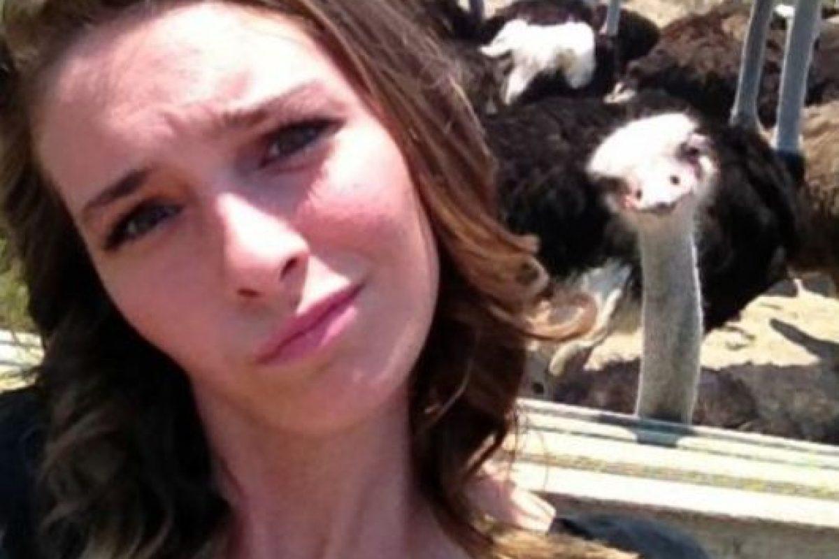 Con avestruces Foto:Imgur. Imagen Por: