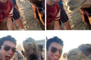Con un camello Foto:Imgur. Imagen Por: