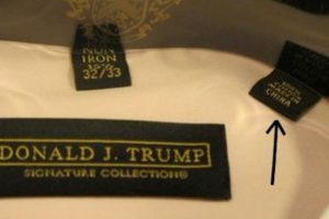 Los trajes de Trump oscilan entre los 150 y los 188 dólares. Foto:vía Twitter. Imagen Por: