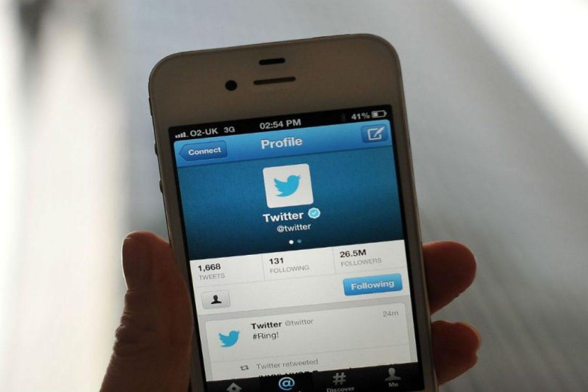 Twitter fue diseñada para ser usada únicamente en teléfonos móviles. Foto:Getty Images. Imagen Por: