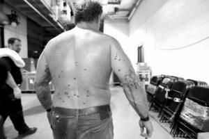 "A Chris Jericho no le fue nada bien la noche de ""Extreme Rules"". Foto:WWE. Imagen Por:"