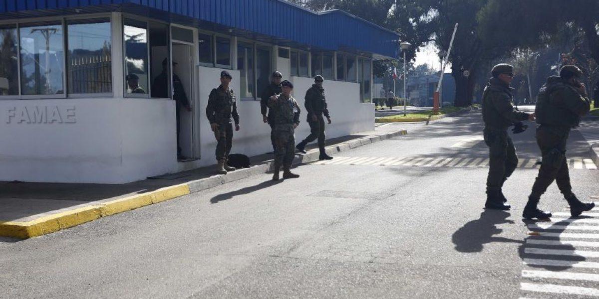 Herido grave por explosión en Famae se encuentra fuera de riesgo vital inmediato