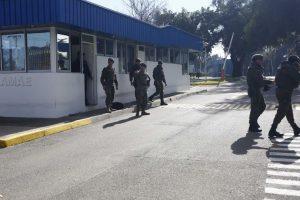 Explosión en instalaciones de Famae en Talagante. Foto:Aton Chile. Imagen Por: