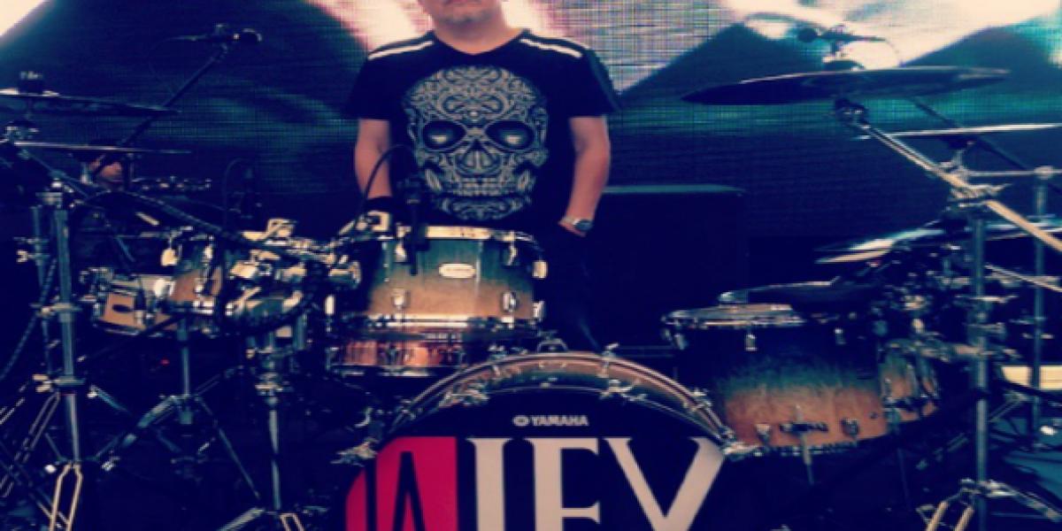 Mauricio Clavería, baterista de La Ley: