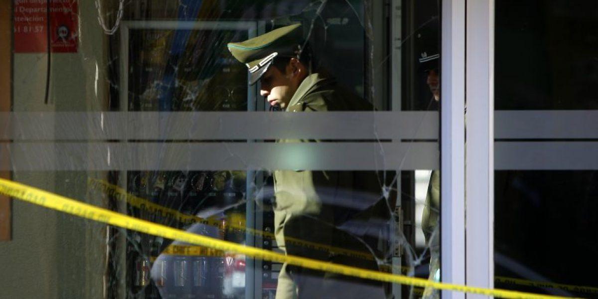 Frustran robo de cajero automático al interior de la Universidad de Santiago