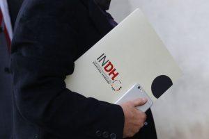 Directora del INDH se reune con el Minstro del Interior Foto:Agencia Uno. Imagen Por: