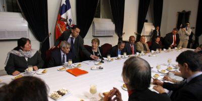 Presidenta Bachelet encabezó desayuno en conmemoración del Día del Suplementero
