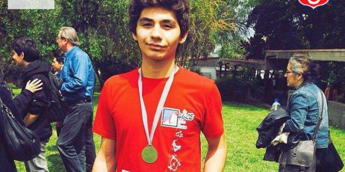 El otro olímpico Tomás González que dará un gran salto en matemática