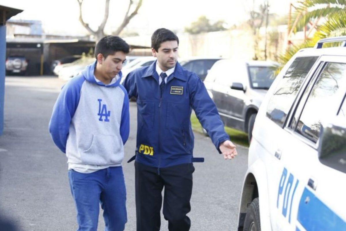 Los detenidos. Foto:Reproducción / Twitter @PDI_CHILE. Imagen Por: