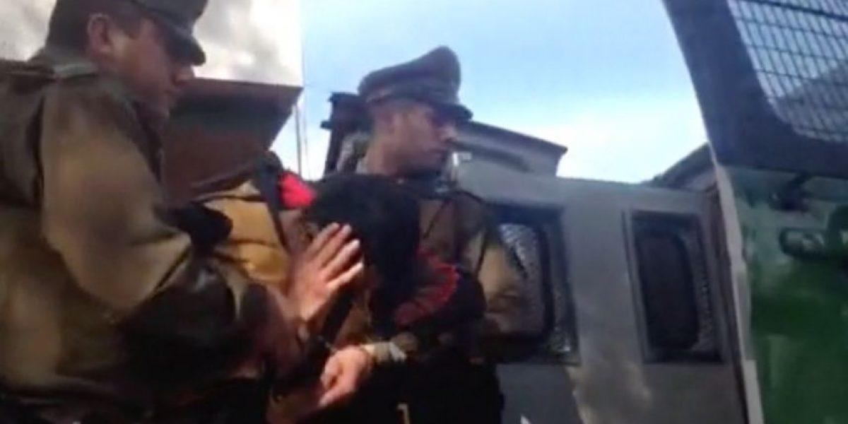 Carabineros los sorprendió en acción: dos detenidos dejó portonazo frustrado en Macul