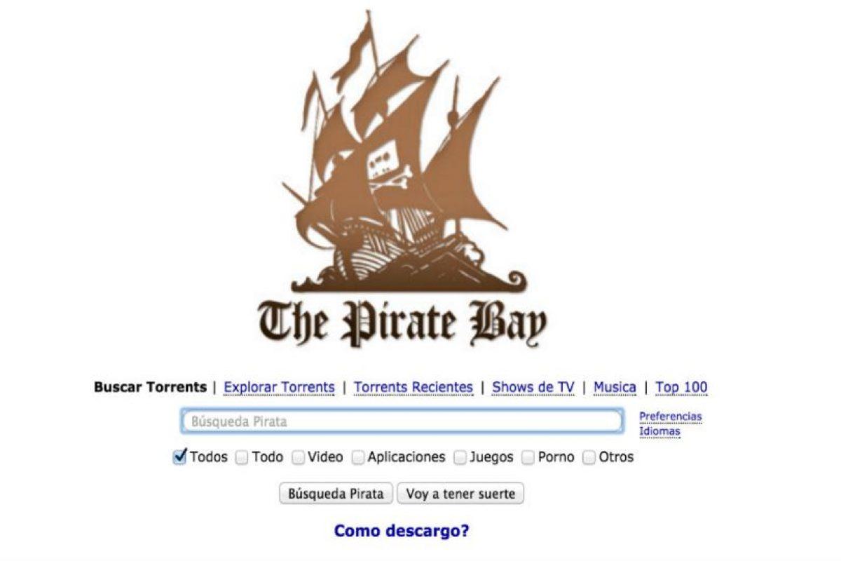 Cientos de compañías productoras han exigido a las autoridades su cierre. Foto:The Pirate Bay. Imagen Por:
