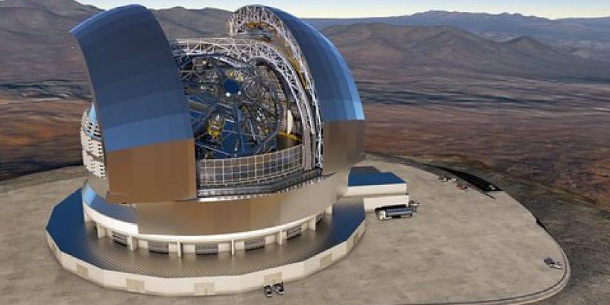 Empresa italiana construirá el telescopio óptico más grande del mundo en Chile