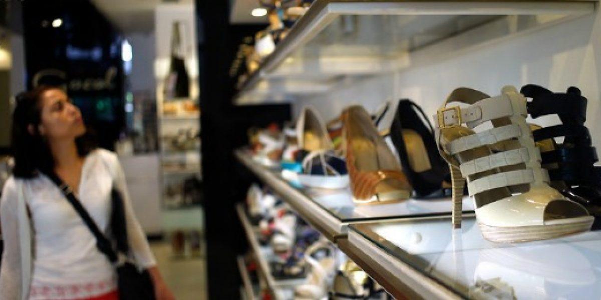 Calzado lidera sorpresivo crecimiento en las ventas del comercio de la RM en abril