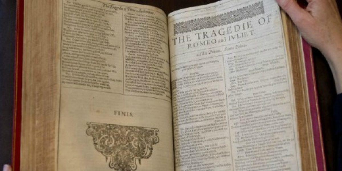 Ejemplar de la primera antología de Shakespeare se subasta en casi US$3 millones