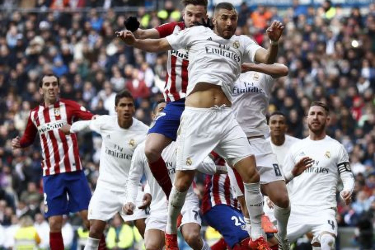 Real Madrid vs. Atlético de Madrid se miden en la final Foto: Getty Images. Imagen Por: