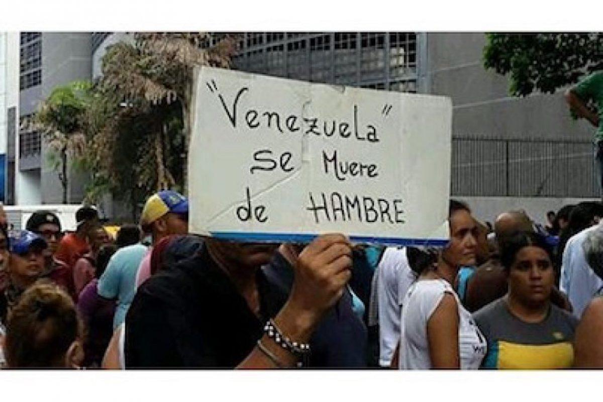 Uno de los hashtags principales es #SOSVenezuela Foto:Instagram.com. Imagen Por: