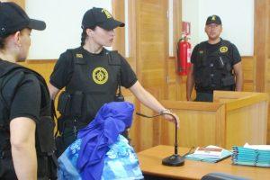 Formalización a imputados por el asesinato de la familia Luchsinger-Mackay Foto:Agencia Uno. Imagen Por: