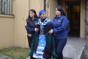 Detencion de inculpados en el asesinato del matrimonio Luchsinger Mackay Foto:Agencia Uno. Imagen Por: