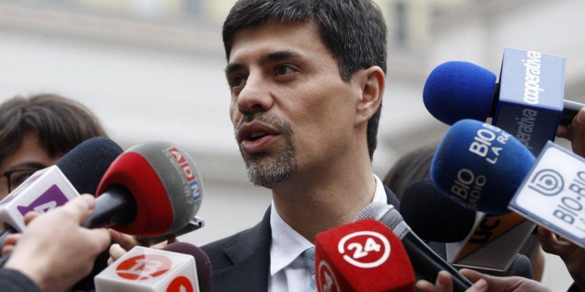 Vocero Díaz desestimó marcha: sólo la conformó un grupo reducido de estudiantes